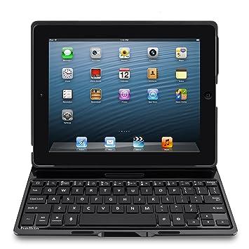 fc444ff3aff09 Belkin F5L149edBLK Clavier sans fil pour iPad 2 3 4 Azerty - Noir avec étui  intégré  In New York