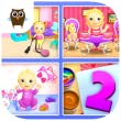 Sweet Baby Girl Dream House 2 - Daycare, Tea Party, Bath Time, Dress Up, Birthday Cake, Cleanup and Playtime from TutoTOONS