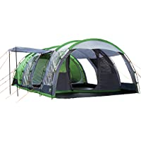 Regatta 6-Man Vanern Outdoor Family Tunnel Tent (Green)