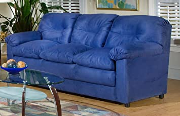 Chelsea Home Furniture Lisa Sofa, Cobalt Blue