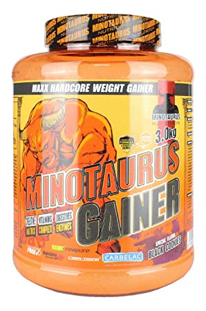 Minotaurus Nutrition Gainer 3000g Dose (Black Cookies)