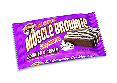 Muscle Brownie Cookies And Cream And Cream Muscle Brownie