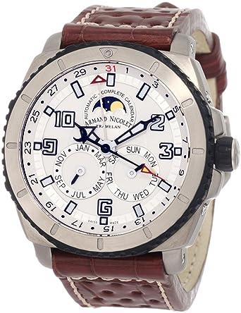 Armand Nicolet Men's T612A-AG-P760MR4 S05 Sporty Automatic Titanium Watch