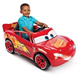 Huffy Pixar Cars 3 Lightning McQueen 6V Battery-Powered Ride On Toys for Kids