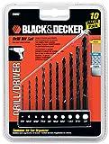 Black & Decker 15557 10-Piece Drill Bit Set