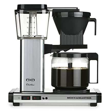 Moccamaster KBG 741 10-Cup Coffee Brewer with Glass Carafe