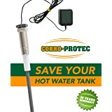 Corro-Protec CP-R Titanium Powered Anode Rod for Water Heater (40-80 gal tank) (Tamaño: 40-80 Gallon Tank)