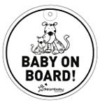 Dreambaby Baby On Board, Round