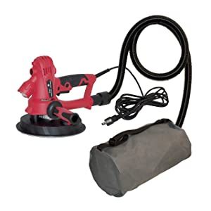 ALEKO DP-700A Electric Variable Speed Drywall Vacuum Sander with LED Light 800 Watts