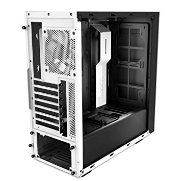 Nzxt source 340 bo tier bo tier pc blanc fen tre for Fenetre informatique