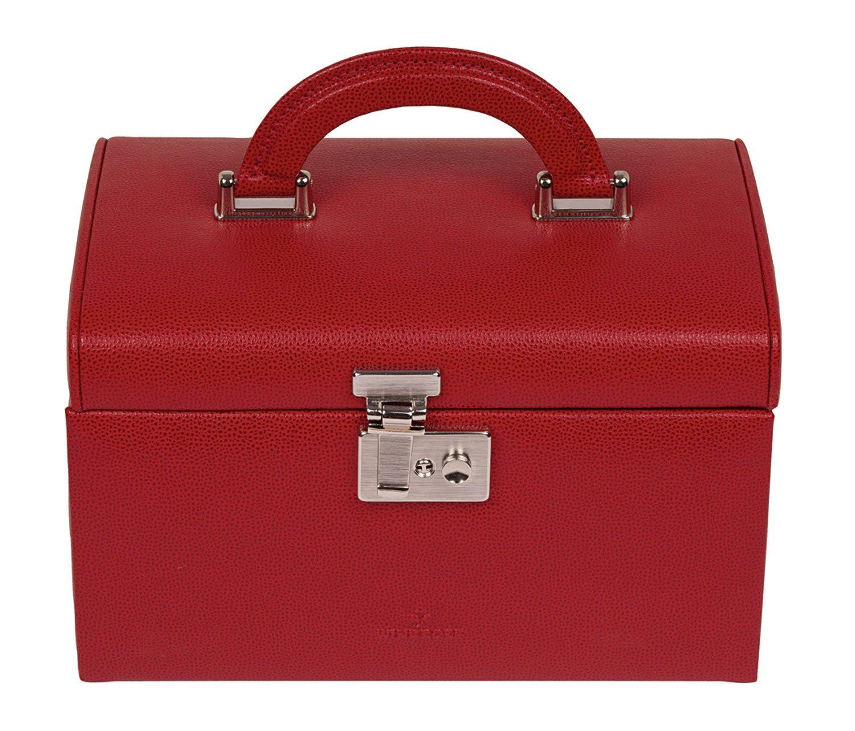 Windrose Beluga Schmuckkoffer mit 4 Etagen 1 rot günstig kaufen