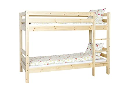 Steens Furniture Tom Bunk Bed, 155 x 209 cm, Natural