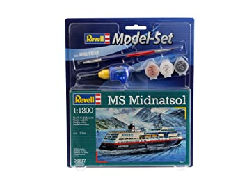 Revell - 65817 - Maquette - Model Set Ms Midnatsol