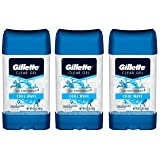 Gillette Endurance Antiperspirant / Deodorant, Cool Wave Clear Gel, 3.8 Ounce (Pack of 3)
