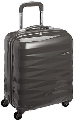 【クリックで詳細表示】[アメリカンツーリスター] AmericanTourister Crystalite / クリスタライト スピナー 50 (50cm/32L/2.8Kg) (スーツケース・キャリーケース・トラベルバッグ・TSAロック装備・軽量・大容量・機内持込・ファスナー・保証付) R87*58001 58 (ダークグレー): シューズ&バッグ:通販