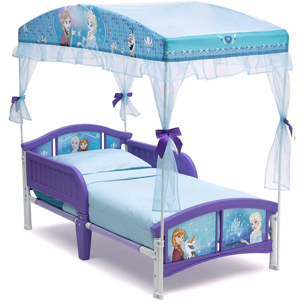 Delta Children Canopy Toddler Bed Disney Frozen