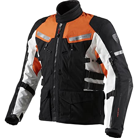 REV IT - Veste Sand 2 Noir-Orange