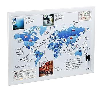 carte du monde à punaiser Carte/ Plan Magnétique pour dessiner, punaiser et préparer vos
