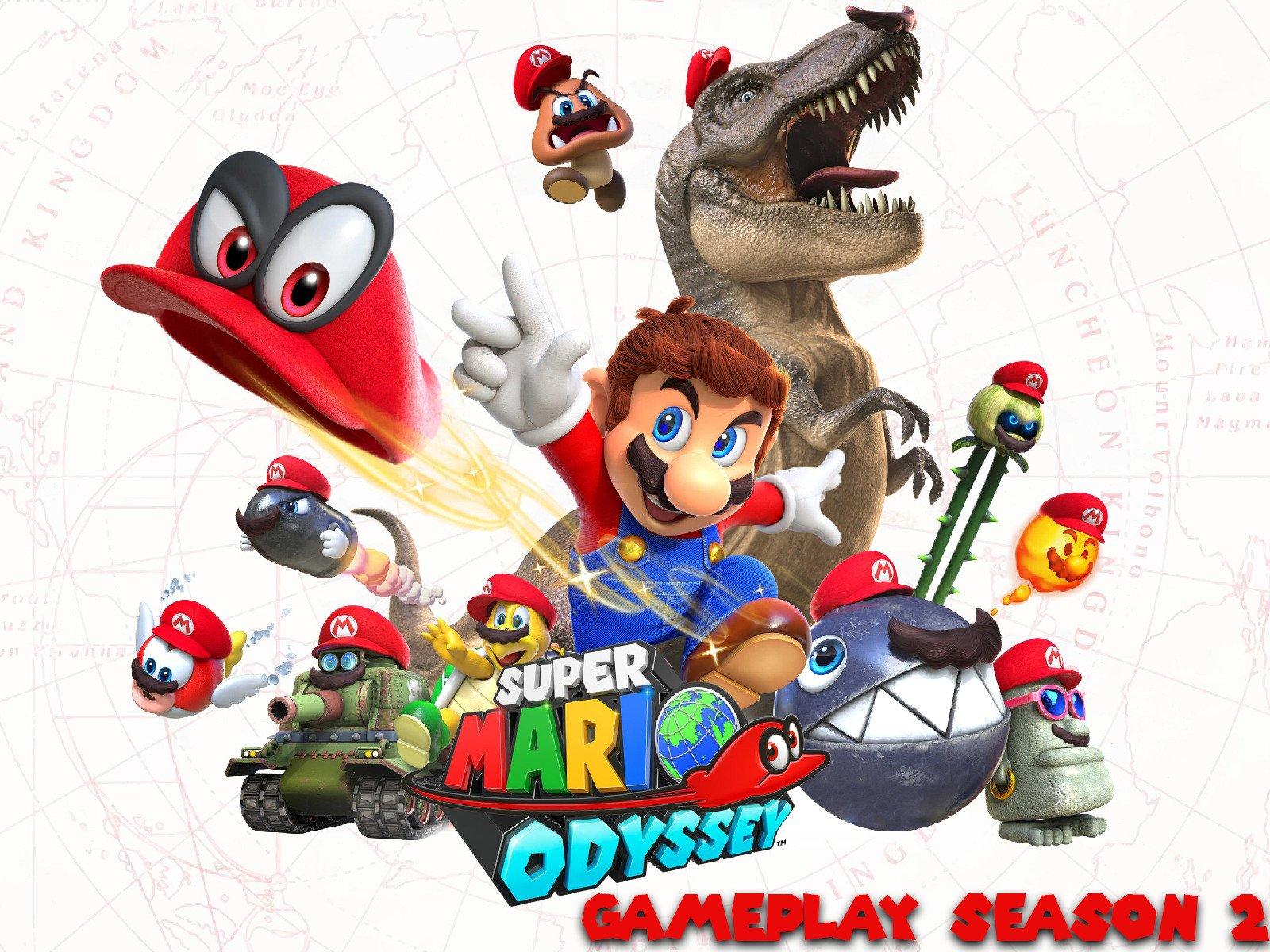 Clip: Super Mario Odyssey Gameplay