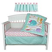 Disney Princess Little Mermaid Ariel Crib Bedding Collection