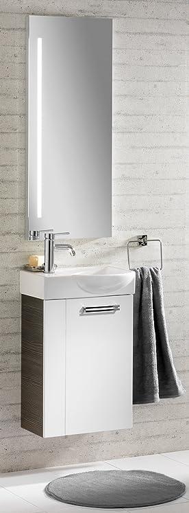 Fackelmann Como Set di 3mobili di Bagno per lavello/lavabo/Specchio