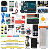 Seesii UNO R3 Super Starter Kit for Arduino with 140 Pieces Basic Practical Components Free PDF Detailed Tutorial 29 Lessons(UNO R3 Super Starter Kit for Arduino) (Color: UNO R3 Super Starter Kit for Arduino)