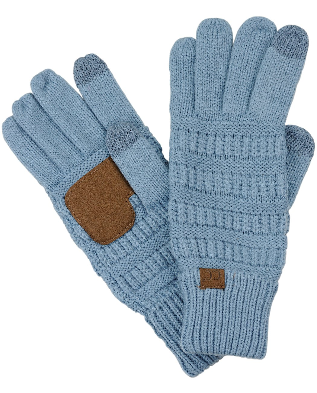 Cable Knit Texting Gloves