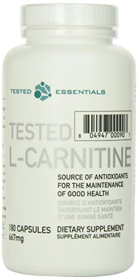 Tested L-Carnitine 180 Caps