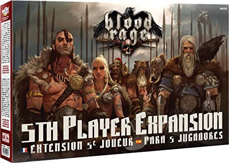 Asmodee - UBIBLR102 - Blood Rage - Extension 5e joueur