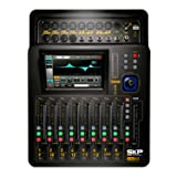 SKP Pro Audio D-Touch 20 Digital Mixing Console Touchscreen WiFi 20-Inputs/16-Bus/8-Outs (Color: Black)
