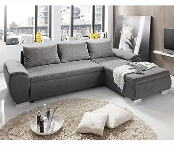 Hot Hot Hot Sale Couch Galina Grau 296x191cm Ot R Schlaffunktion