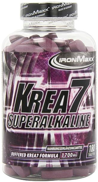 Ironmaxx Krea7 Superalkaline- 180 Tabletten (1 x 408,0g)