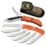 Outdoor Edge RazorPro Double Blade Hunting Knife and 4.5