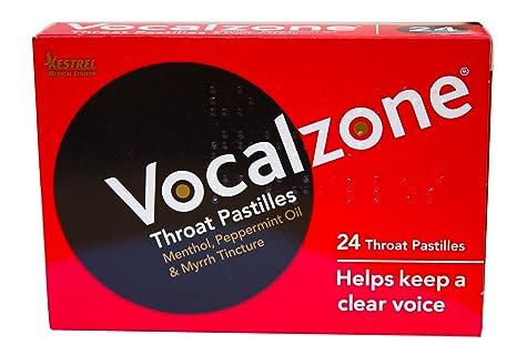Отзывы Vocalzone Throat Pastilles 24 pastilles by Vocalzone