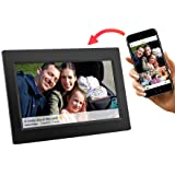 Feelcare 10 Inch Smart Wifi Digital Photo Frame with Touch Screen, IPS LCD Panel, Built in 8GB Memory, Wall-Mountable, Portrait&Landscape, Instantly Sharing Moments(Black) (Color: black, Tamaño: 10 inch)