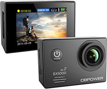 DBPower EX5000 14MP FHD Sports Action Camera