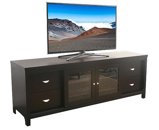 Abbyson Living Signature Solid Oak TV Console