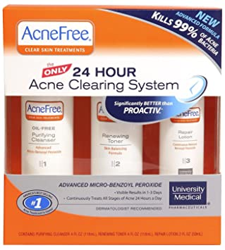 How to use acnefree clear skin system