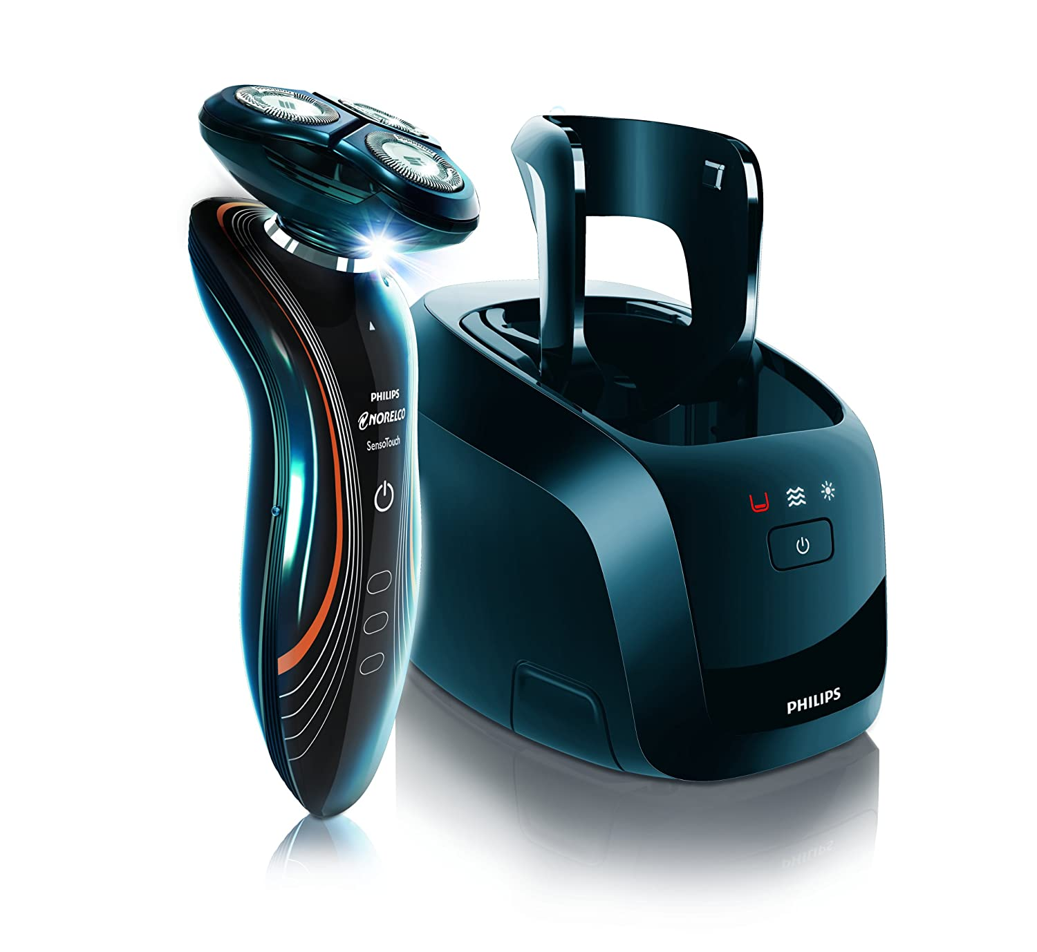 Philips Norelco 1160X SensoTouch 2d Electric Shaver with Jet Clean System