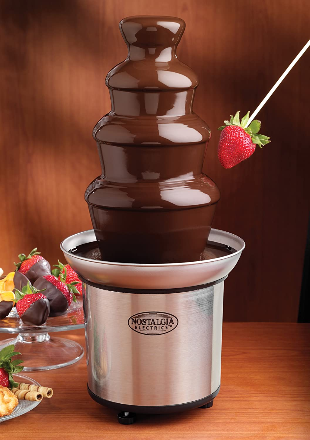best valentine's gift ideas on a budget is a 35 dollar chocolate fondue fountain