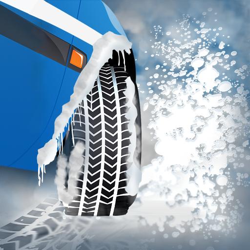 pneus-neige-dhiver-agilite-de-course-la-voiture-de-larctique-traction-de-route-de-glace-edition-grat
