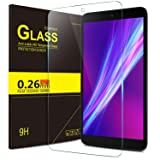 "IVSO Alcatel A30 Tablet 8"" Tempered Glass Screen Protector with [Scratch-Resistant] [No-Bubble Easy Installation] for T-Mobile Alcatel Dubbed A30 8-inch Tablet Model 9024W 2017 Released(1pcs)"
