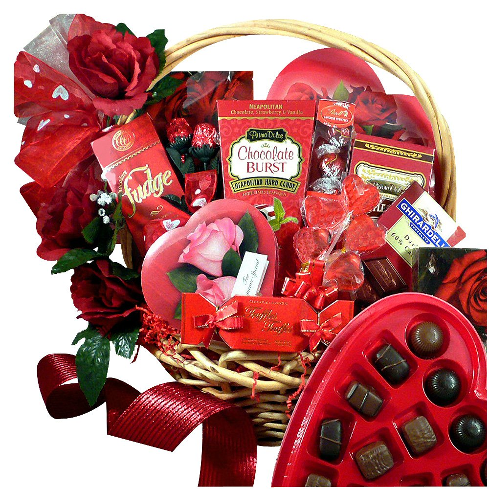 My Chocolate Valentine Gift Basket