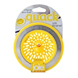 MSC International 11001 Joie Quack Kitchen Sink Strainer Basket, Stainless Steel and BPA-Free Plastic, Duck, Yellow (Color: Yellow, Tamaño: Duck)