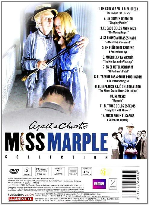 Agatha Christie: Miss Marple (Colección) [DVD]: Amazon.es: Andrew