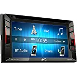 Jvc KWV140BT Double Din Bt in-Dash DVD/cd/am/fm Car Stereo W/6.2 Touchscreen (Color: KW-V140BT)