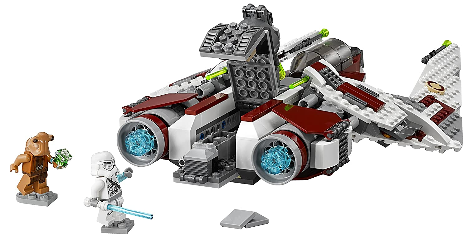 lego star wars 75051 jedi scout fighter building toy new free shipping