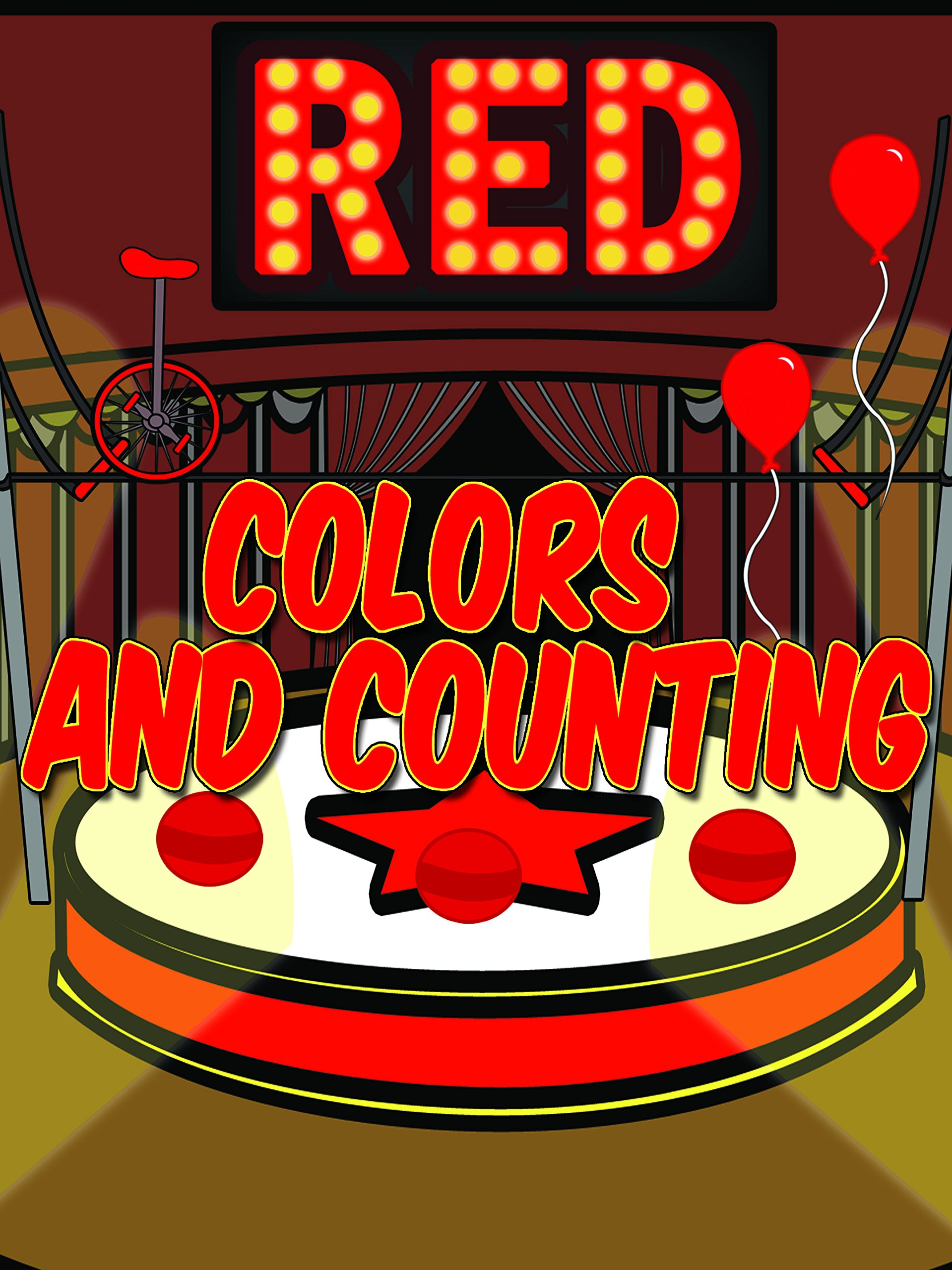 Red - Colors and Counting