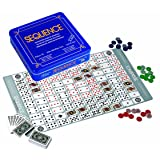 Jax Deluxe Sequence Tin (Trilingual) Family Board-Game
