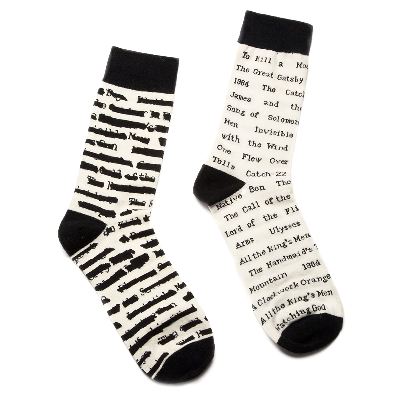 Out Of Print Unisex Banned Books Socks